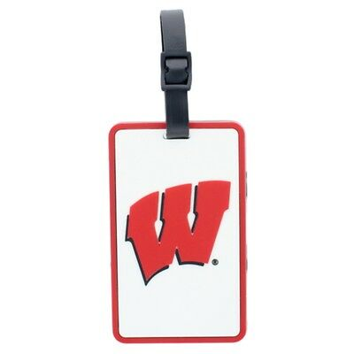Wisconsin Badgers Soft Luggage/Bag (Wisconsin Badgers Bag Tag)