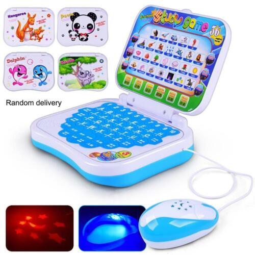 Baby Kids Pre School Educational Learning Study Toy Laptop C