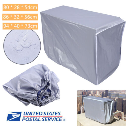 Outdoor Air Conditioner Cover AC Protector Anti-Dust Anti-Sn