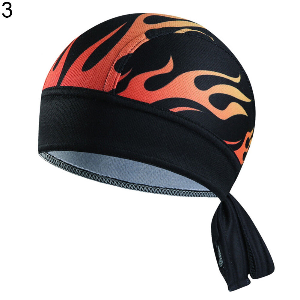528627a27bc301 Men Riding Bicycle Cool Pirate Scarf Sports Hat Headband Cycling Cap  Headscarf