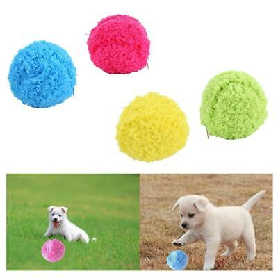 Pet Dog Cat Automatic Roller Ball Toy Dog Plush Toy Motion Activated Ball H Top