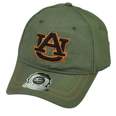 NCAA Auburn Tigers OC Sports Green Relaxed Slouch Hat Cap Snapback Adjustable Auburn Tigers Green