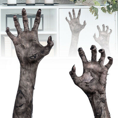 3D Halloween Theme Horror Ghost Hand Scary Wall Window Sticker Decor Decal