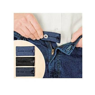 5 Waist Extenders 3 Easy Fit Jean Buttons Pants Skirts Expander PLUS  2 More!