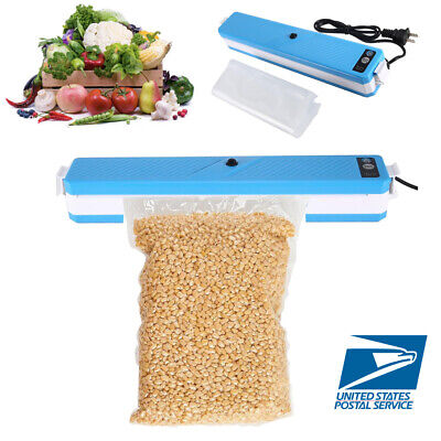 Food Vacuum Sealer Machine Storage Kitchen Meal Sealing Automatic Foodsaver+Bags Seal Automatic Vacuum