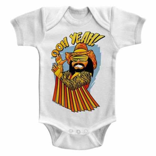 Macho Man Randy Savage Oh Yeah Baby Body Suit Wrestling Infant Romper Boy WWE