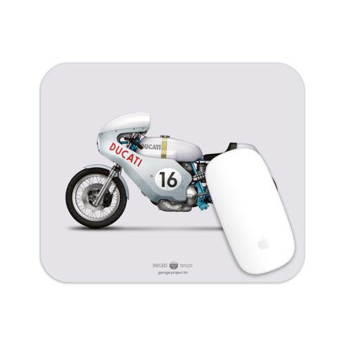 Ducati Smart Imola motorcycle illustration Mouse Pad