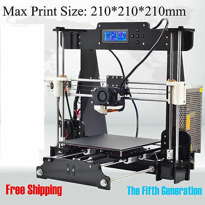 Prusa i3 Komplettpaket als Bausatz 3D Drucker, 220V Creator 3D Printer 2016 NEU