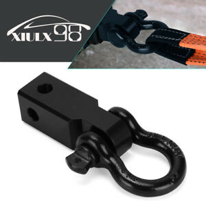 YINTATECH 2 Inch Trailer Shackle Hitch Receiver 3/4