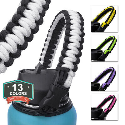 Water Bottle Safety Ring Strap Rope Handle for Hydro Flask Wide Mouth Welcome Camping & Hiking