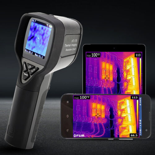 HT-175 Portable Pyrometer IR Infrared Imaging Thermal Imager
