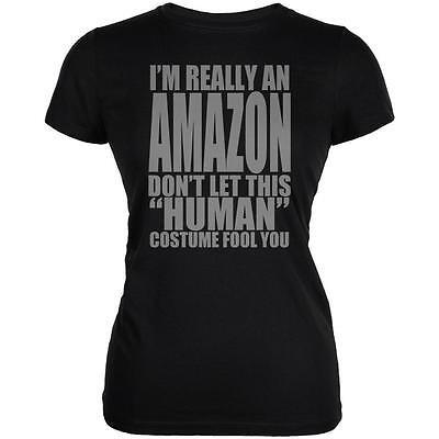 Halloween Human Amazon Costume Juniors Soft T Shirt - Halloween T Shirts Amazon