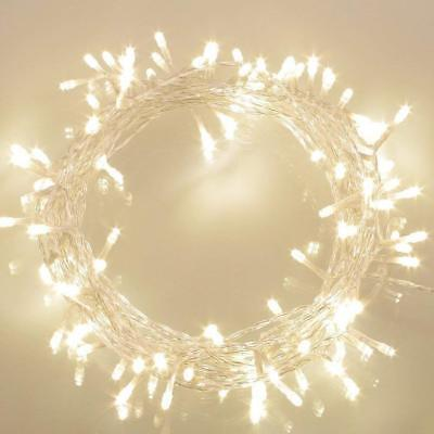 36ft 100 LED Battery Operated String Lights with Timer on 11M Outdoor Dimmable ()