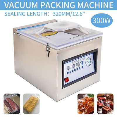 Digital Vacuum Packing Sealing Machine Sealer 300w Chamber Commercial Fresh