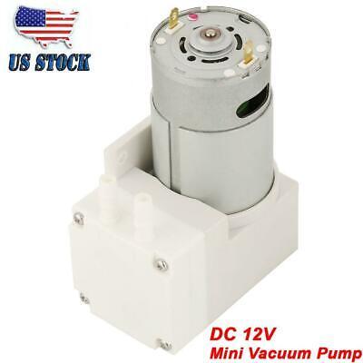 Dc 12v 50w Mini Vacuum Pump 70lmin Negative Pressure Suction Diaphragm Pumps Us
