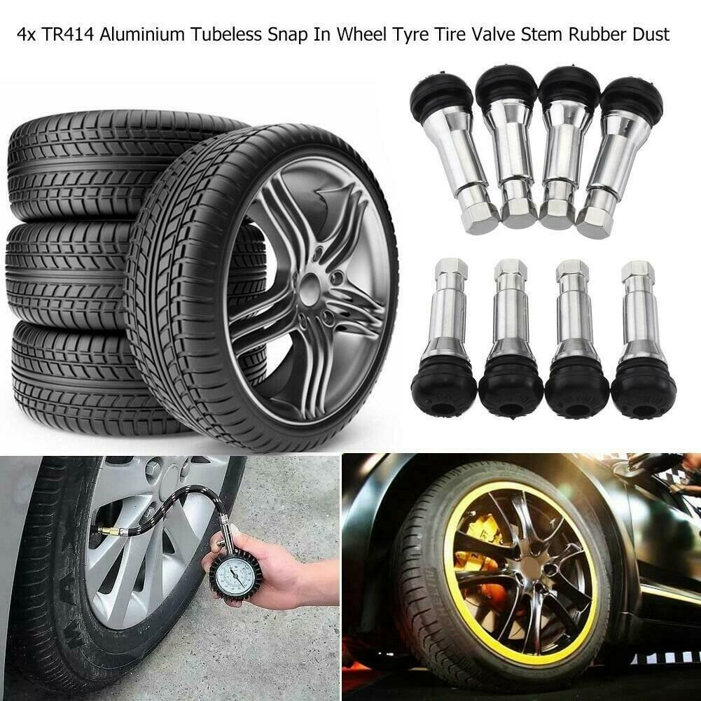 Tyre Tire Alloy Wheel Dust Valve Caps