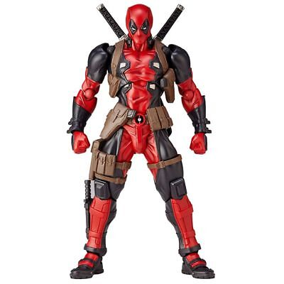 Marvel Legend X Men No 001 Deadpool Action Figure Revoltech Kaiyodo Verison Gift