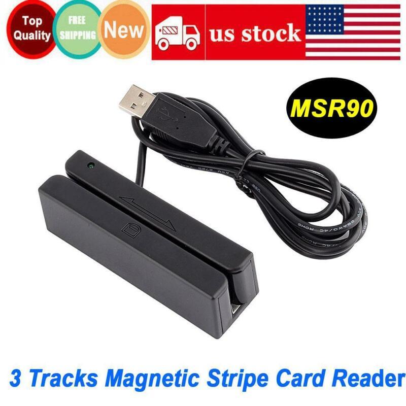 MSR90 Reader/writer And Magnetic Stripe Card 3 Tracks Reader Magstripe Scanner
