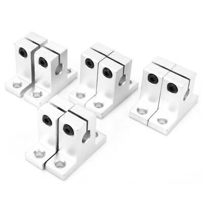 8 Pcs Sk8 8mm Aluminum Linear Rail Shaft Guide Support Bearing Sh8a Cnc Parts Us