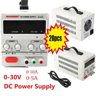 5a10a 30v Dc Power Supply Adjustable Dual Digital Variable Precision Lab Grade
