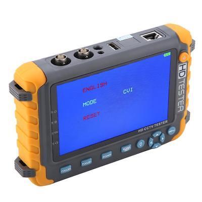 5inch 5mp 4-in-1 Tvi Ahd Cvi Cvbs Cctv Security Camera Tester Cctv Tester Js