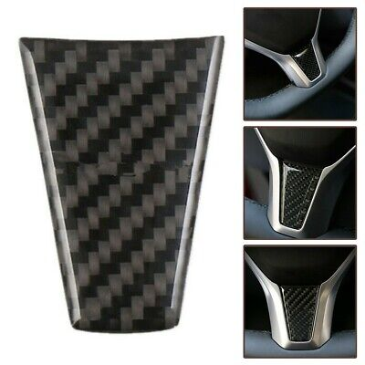 For Tesla Model S X Real Carbon Fiber Car Steering Wheel Cover Auto Accessories
