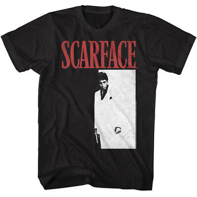 OFFICIAL Scarface Men's T-shirt Tony Montana Movie Pacino Vintage