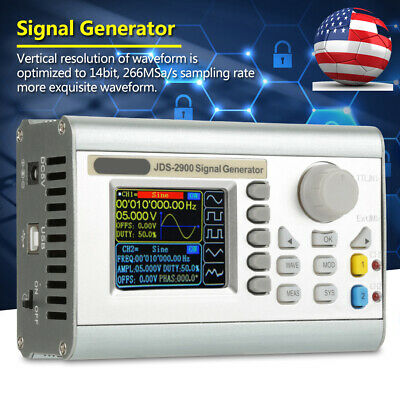 Jds2900 60mhz Lcd 2 Channel Arbitrary Function Rf Signal Generator Counter