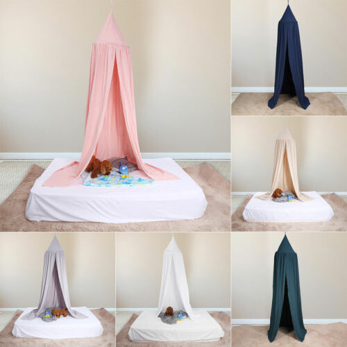 Kids Bedding Round Dome Bed Canopy Curtain