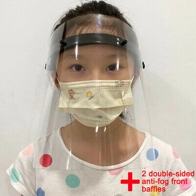 Transparent Mask Dustproof Protective Facial Mask Particulate Respirator