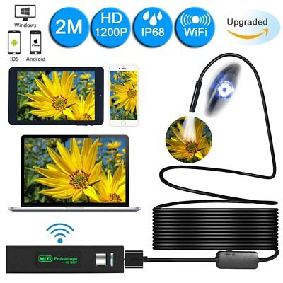 BEST Wireless Endoscope 1200P HD Wi-Fi Borescope Inspection Camera 2.0