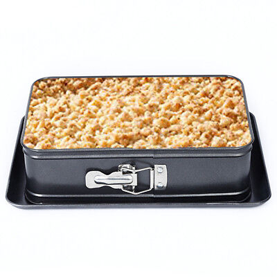 Roaster Mold Easy Clean Pastries Making Baking Pan Non-stick Rectangle Oven