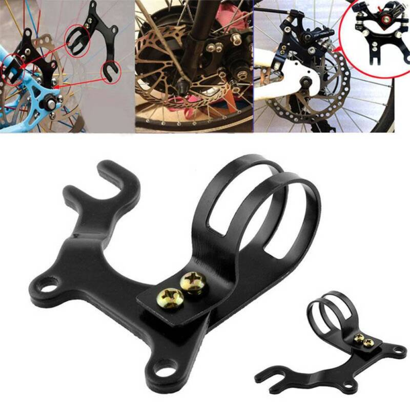 1xUniversal MTB Bicycle Cycling Disc Brake Mount Adapter for Front Caliper BR