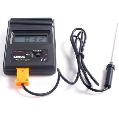 Tm-902c Digital Lcd Thermometer Temperature Reader Meter Sensor K Type Probe