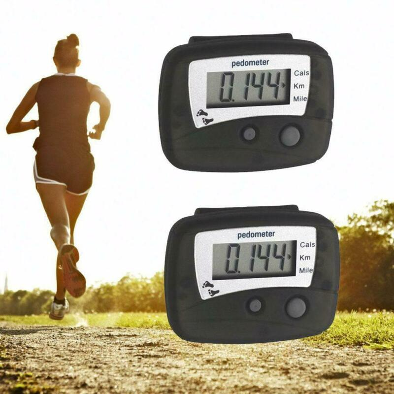 Useful LCD Step Run Distance Calorie Walking Counter Digital