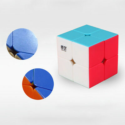 Magic Cube 2x2 Ultra-smooth Professional Speed Cube Magic Puzzle Twist Gift Toys