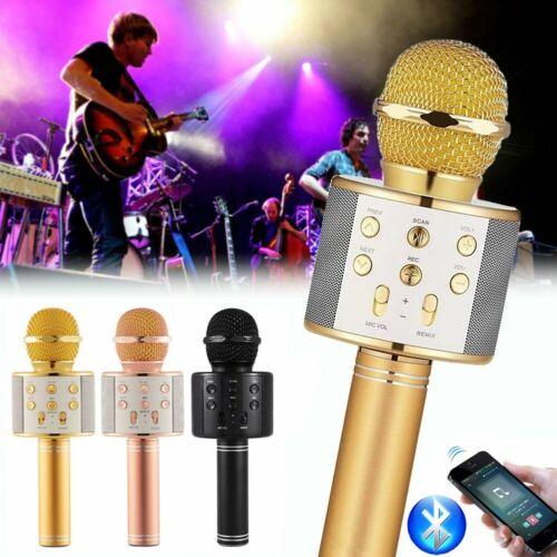 WS858 Wireless Bluetooth Microphone Karaoke KTV Handheld Mic