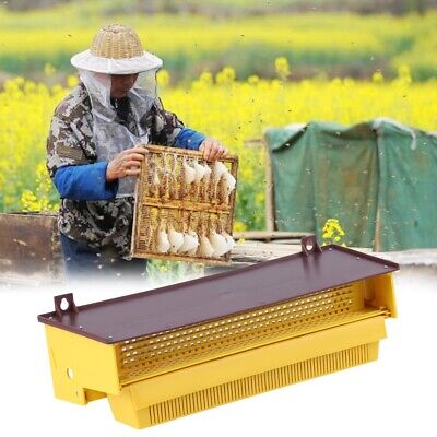 Bee Pollen Trap Collector Plastic For Apiculture Beekeeping Beehive Tool Yellow