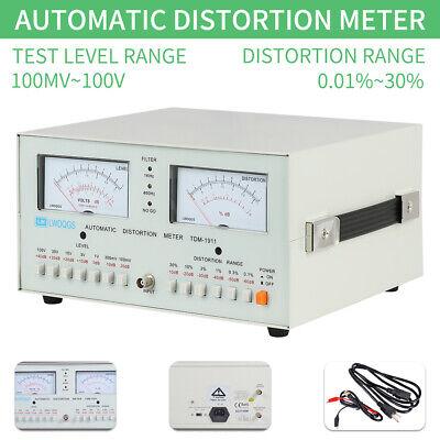Tdm-1911 Automatic Distortion Meter 0.01 - 30 Audio Distortion Meter 110v