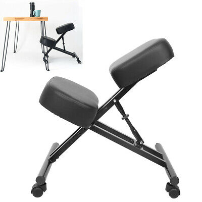 New Ergonomic Kneeling Chair Adjustable Home Office Stool Seat With Wheels