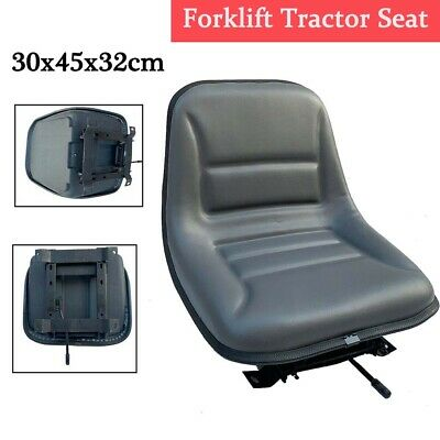 Forklift Tractor Seat Waterproof Forklift Suspension Seat With Sliding Track Us