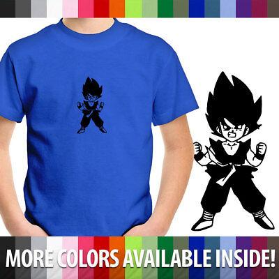 Little Goku Anime Cartoon Unisex Kids Tee Youth T-Shirt Cotton Boy Girl shirt - Little Boy Anime