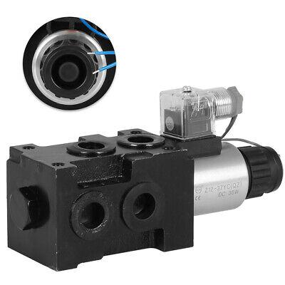 1-spool Hydraulic 6 Port Solenoid Diverter Selector Valve 12v 13gpm Hsv6-c