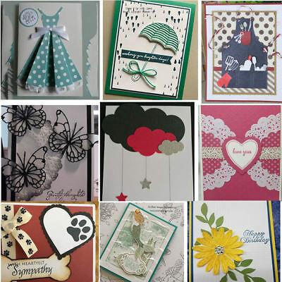 Dress Umbrella DIY Cutting Dies Stencil Scrapbooking Card Paper Embossing Craft