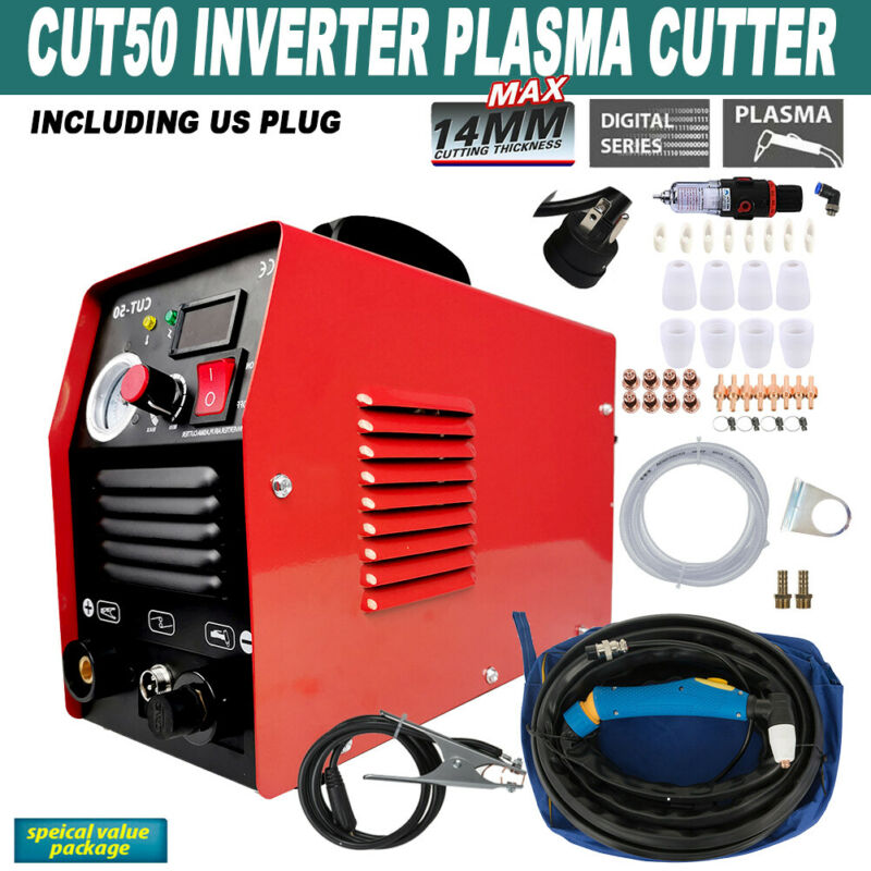 CUT50 50Amp Plasma Cutter Dual 110V/220V Inverter Digital Plasma Welding Machine