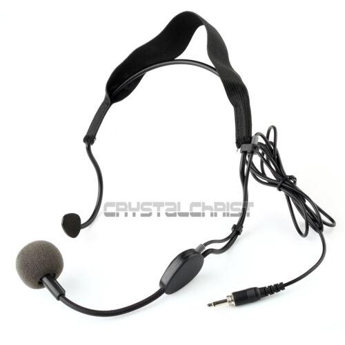 3 5mm Plug Earhook Headset Microphone For Sennheiser Wireless Mic