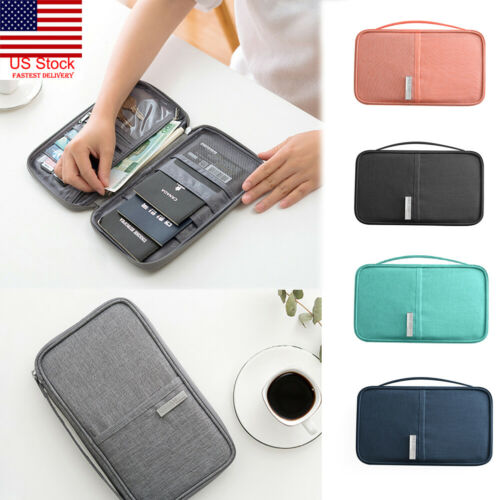 US Travel Wallet Family Passport Holder Accessories Document