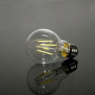 4x Vintage E27 4W 110V COB Filament Bulb Edison Globe LED Light Lamp Flame