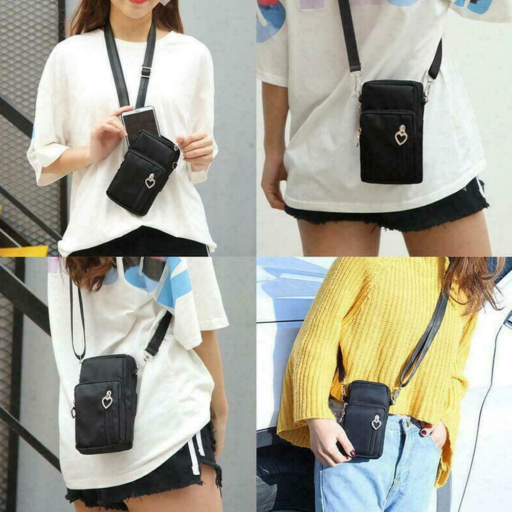 Women's Mini Cross-Body Cell Phone Shoulder Strap Wallet bag