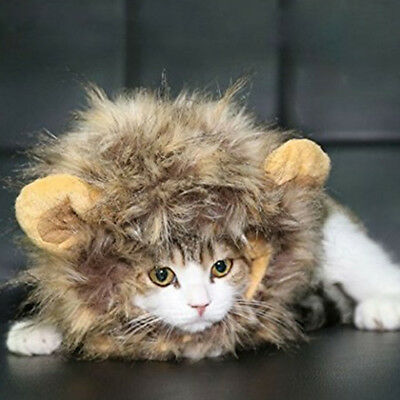 Pet Lion Mane Wig for Cat Dog Costume Festival Fancy Dress Up - Lion Mane For Dog
